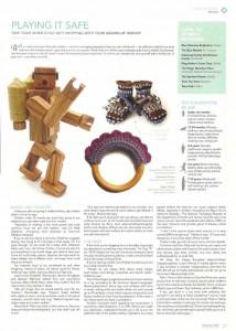 HER Cincinnati December 2012 robot toy by Happy Bungalow