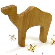 Wooden Safari Toy Camel handmade from Sassafras by Happy Bungalow