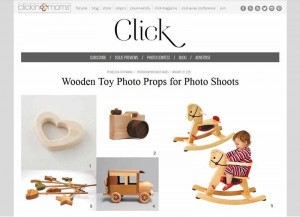 clicknmoms.com Wooden Magic Wands by Happy Bungalow