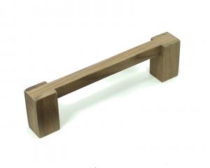 Custom Wood Cabinet Hardware Handle handmade from Walnut Wood by Happy Bungalow