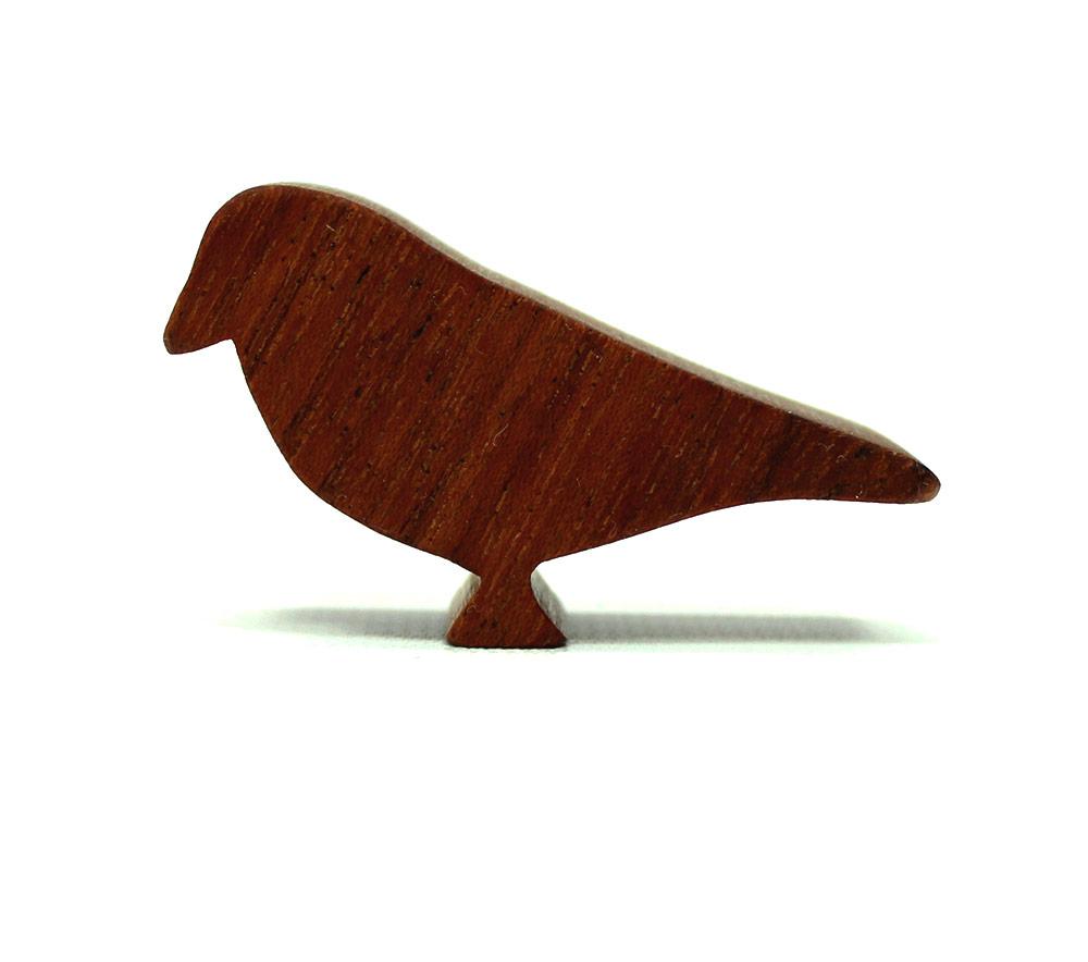 Wood Finch Figure