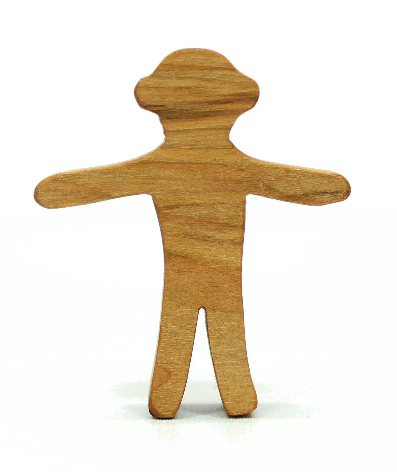 Wooden Sock Monkey Toy