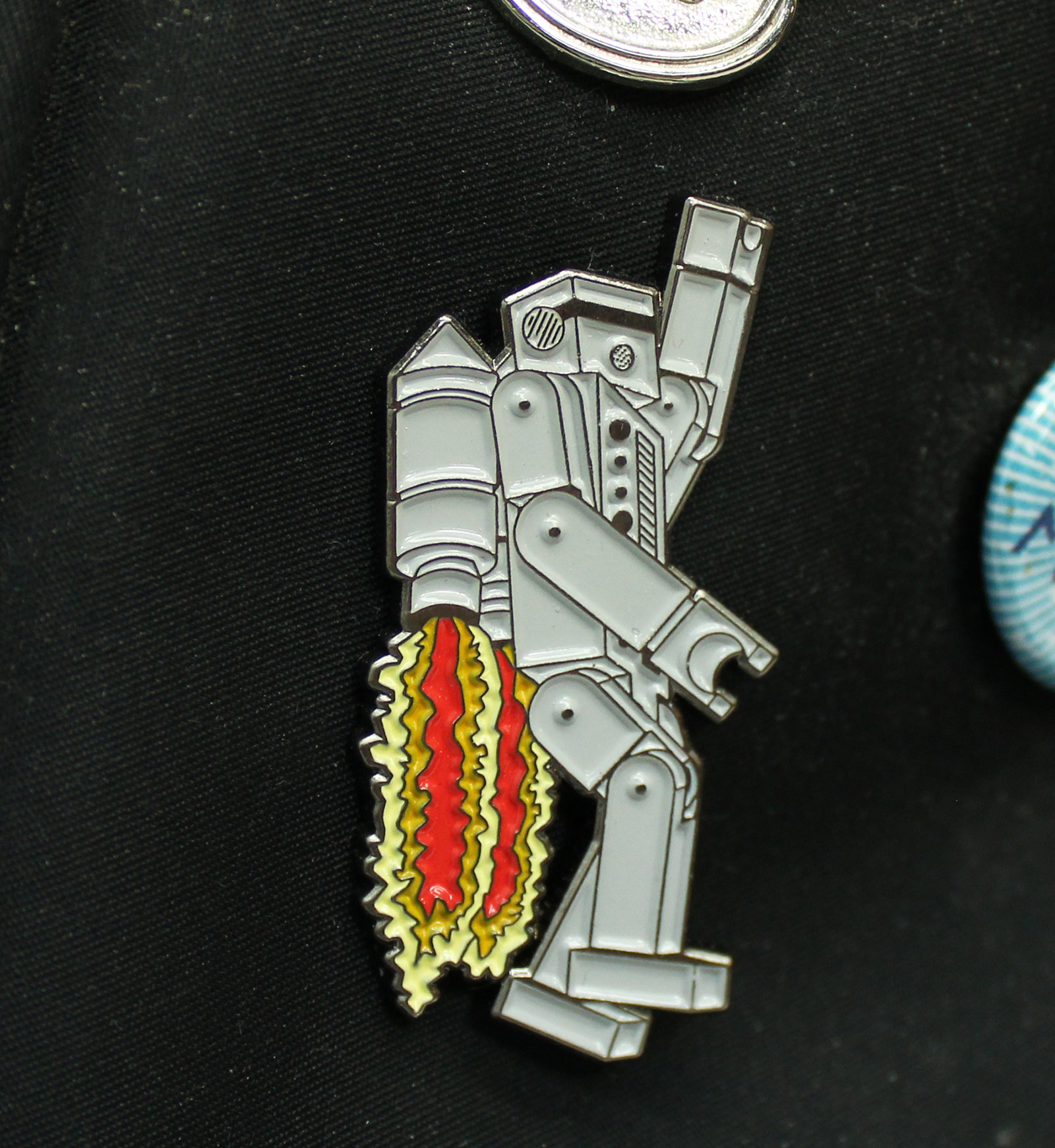 Rocket Rob Enamel Pin