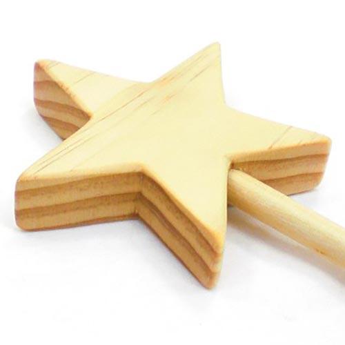 wood magic wand