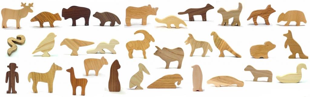 wood animal toys