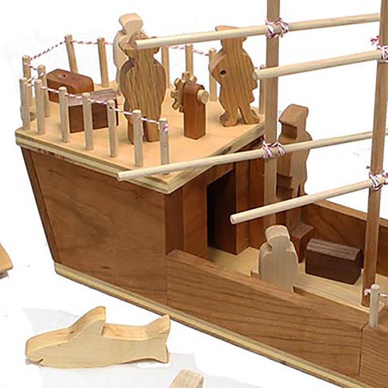 wood pirate toys